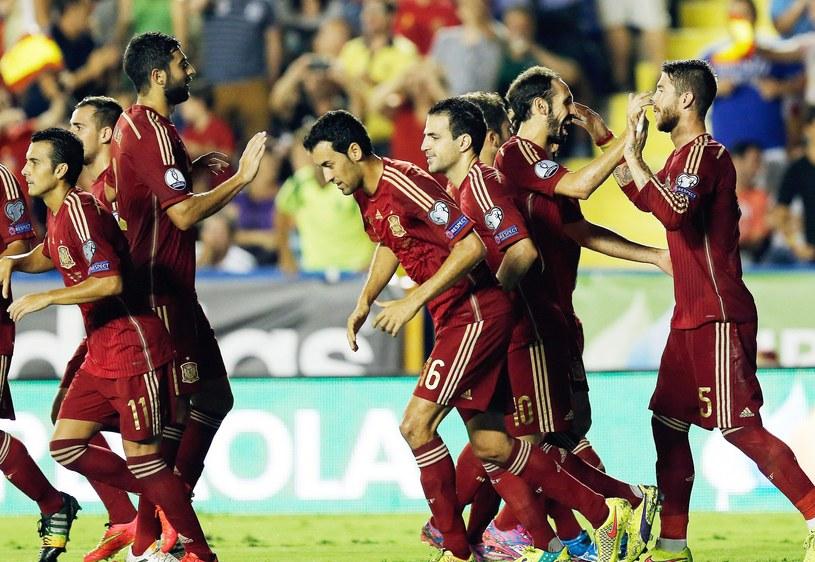Hiszpanie efektownie rozpoczęli walkę o awans na Euro 2016 /PAP/EPA