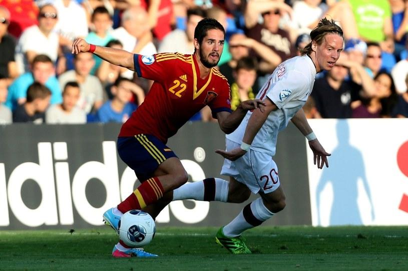 Hiszpanie pewnie pokonali Norwegów /PAP/EPA