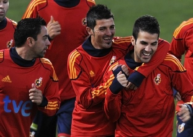 Hiszpanie rozpoczną bój o Euro 2012 od meczu z Czechami /AFP