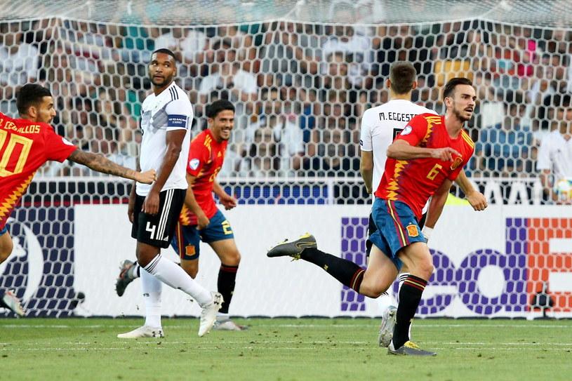 Hiszpanie szybko strzelili Niemcom pierwszego gola /PAP/EPA/ALESSIO MARINI /PAP/EPA