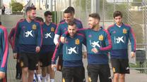 Hiszpanie w dobrym nastroju przed rewanżowym meczem z Chorwacją