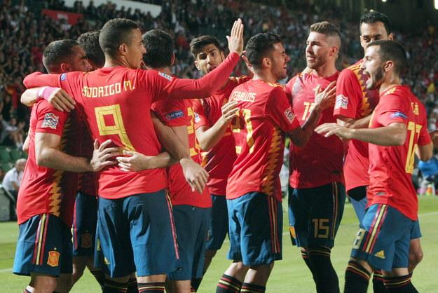 Hiszpanie wbili Chorwatom sześć bramek /MORELL /PAP/EPA