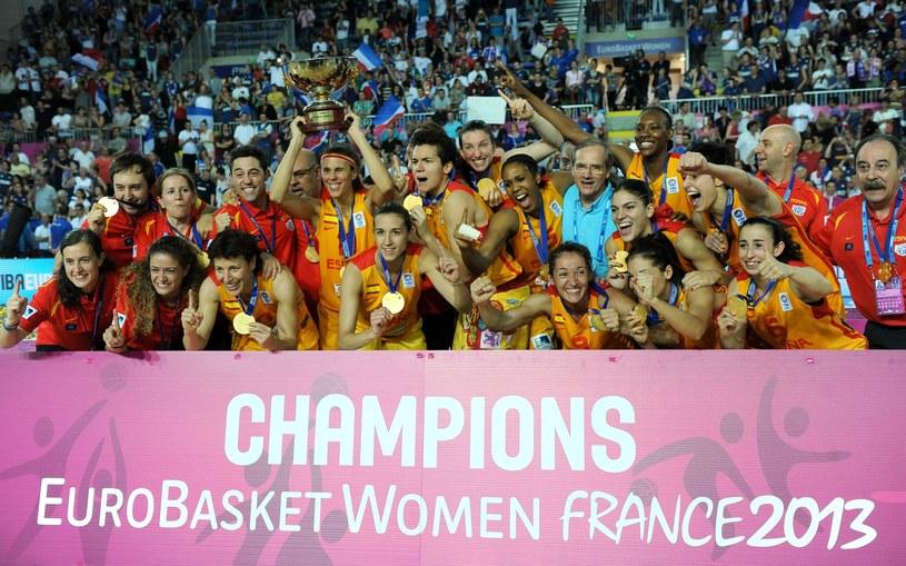 Hiszpanki, koszykarskie mistrzynie Europy /AFP