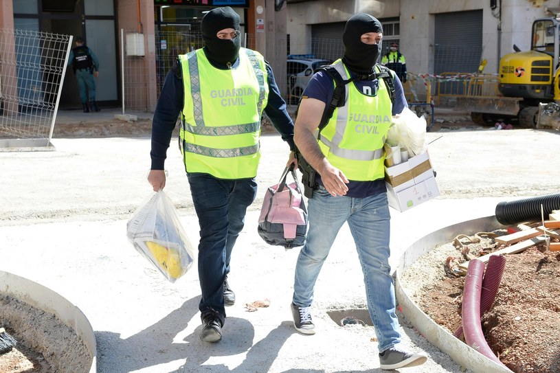 Hiszpańska Guardia Civil /AFP
