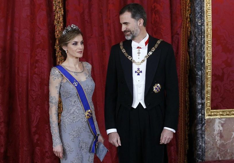 Hiszpańska para królewska /AFP