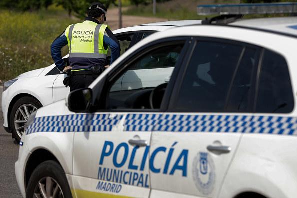 Hiszpańska policja, zdjęcie ilustracyjne /Jesús Hellín/Europa Press /Getty Images