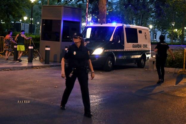 Hiszpańska policja /FERNANDO VILLAR /PAP/EPA