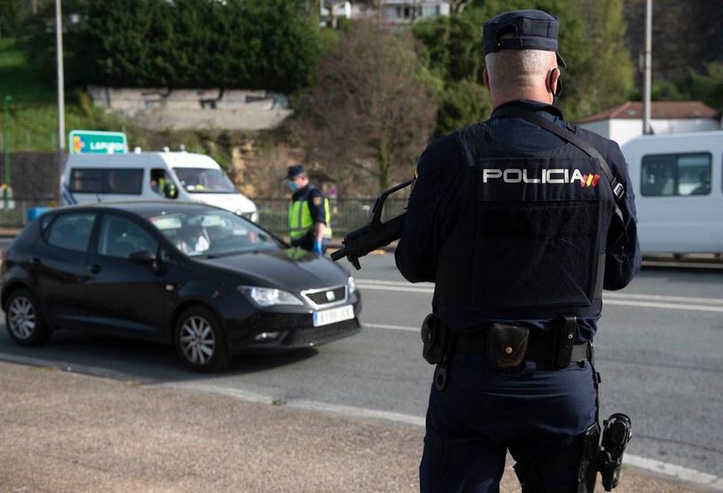 Hiszpańska policja /ANDER GILLENEA /AFP