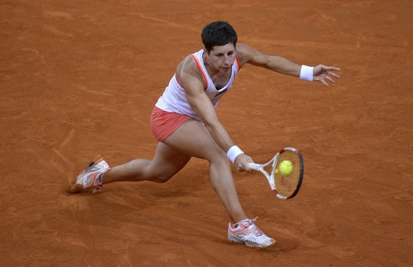 Hiszpańska tenisistka Carla Suarez Navarro /AFP
