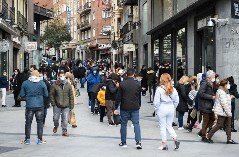 Hiszpańska ulica w czasie pandemii koronawirusa /Gustavo Valiente/SPUTNIK Russia /East News
