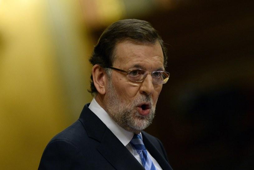 Hiszpański premier Mariano Rajoy. /AFP