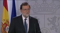 Hiszpański rząd sięga po artykuł 155. konstytucji