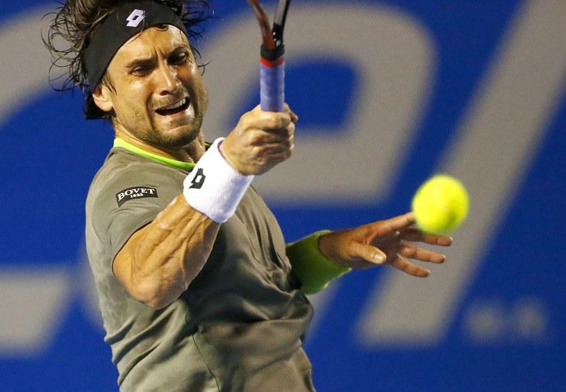 Hiszpański tenisista David Ferrer /AFP