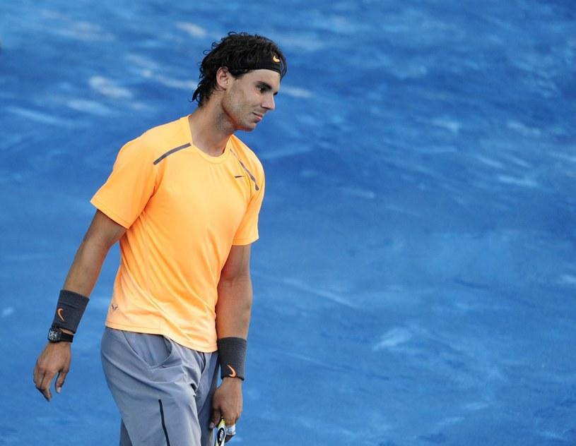 Hiszpański tenisista Rafael Nadal /AFP