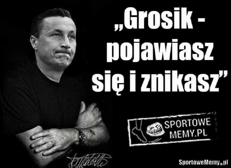 Hit wczorajszego spotkania! /Sportowememy.pl /Internet