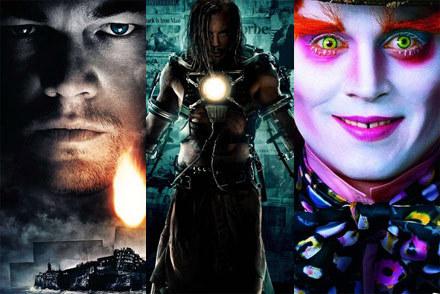 """Hity 2010 roku: Leonardo DiCaprio w """"Wyspie tajemnic"""" i Johnny Depp w """"Alicji  w krainie czarów"""" /materiały dystrybutora"""