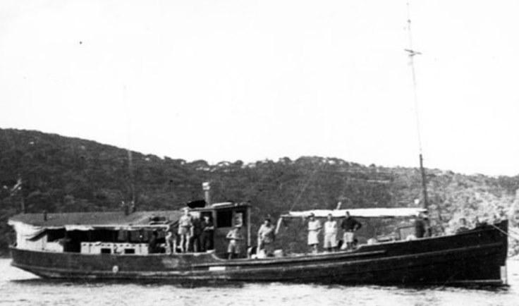 """HMAS """"Krait"""" wykorzystany w operacji """"Jaywick"""" /British Museum /materiały prasowe"""