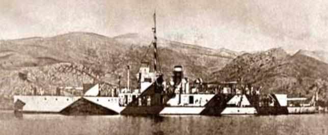 HMS M.33 w czasie operacji dardanelskiej /INTERIA.PL/materiały prasowe
