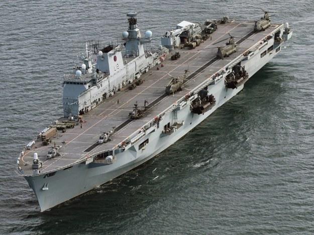 HMS Ocean.  Fot. Royal Navy Media Archive /materiały prasowe