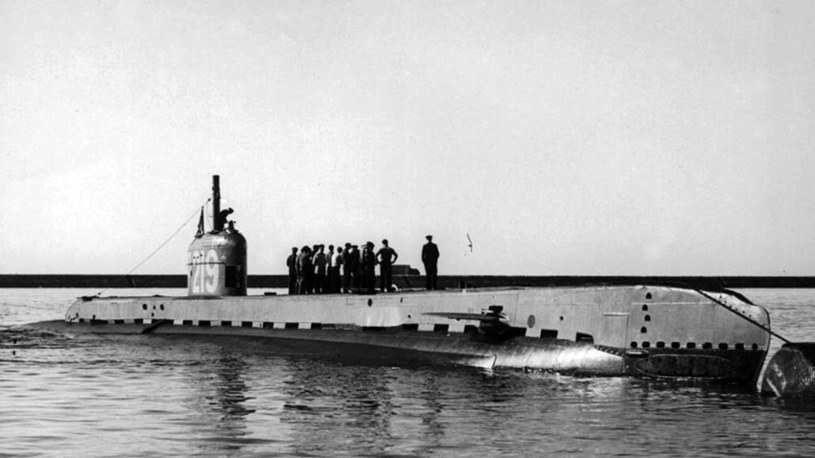 """HMS """"Seraph"""" wiosną 1943 roku /domena publiczna"""