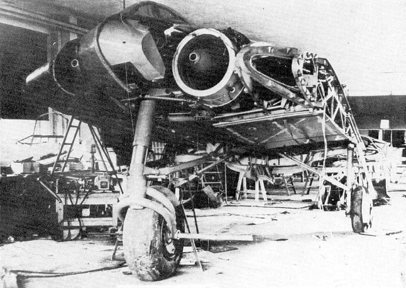 Ho-229 V3 - nieukończony trzeci prototyp samolotu /Wikimedia Commons /INTERIA.PL/materiały prasowe