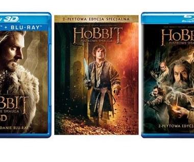 """Hobbit: Pustkowie Smauga"" na Blu-ray 3D, Blu-ray i DVD"