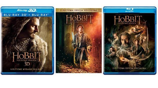 """""""Hobbit: Pustkowie Smauga"""": Okładki płyt /materiały dystrybutora"""