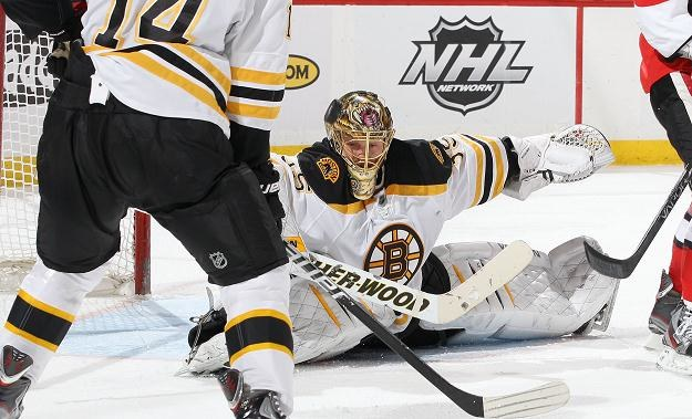 Hokeiści Boston Bruins zmierzą się z Washington Capitals w 1. rundzie play off /AFP
