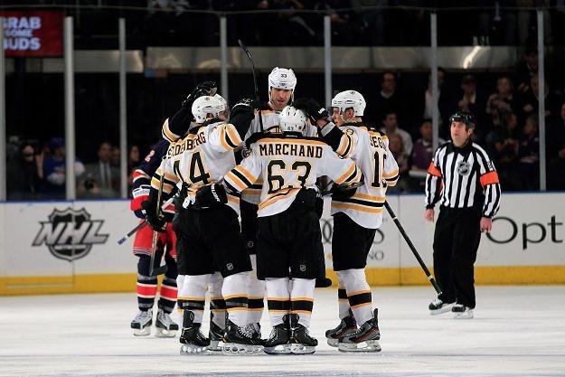 Hokeiści Boston Bruins /AFP