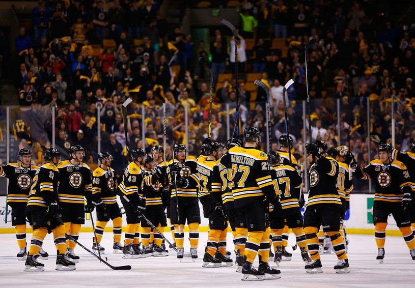 Hokeiści Boston Bruins /AFP