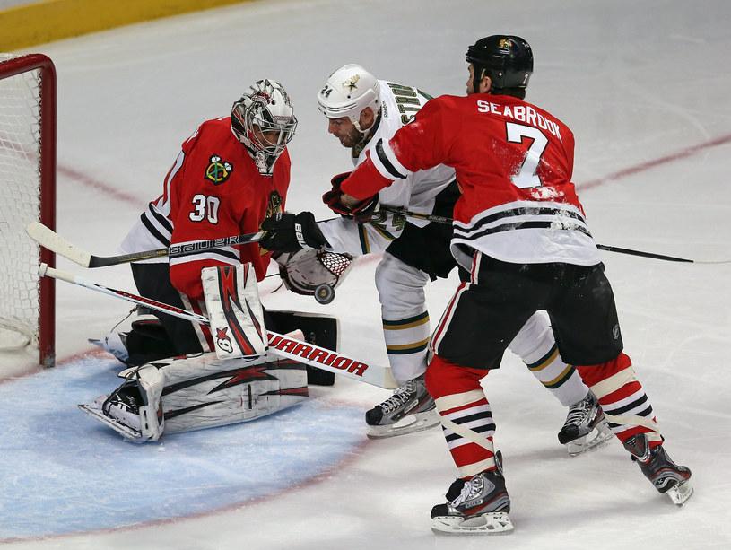 Hokeiści Chicago Blackhawks byli najlepszym zespołem sezonu regularnego NHL /AFP