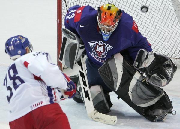 Hokeiści Czech pokonali Słowenię 5:4 w MŚ w Rydze /AFP