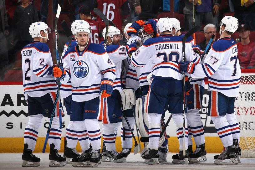 Hokeiści Edmonton Oilers /AFP