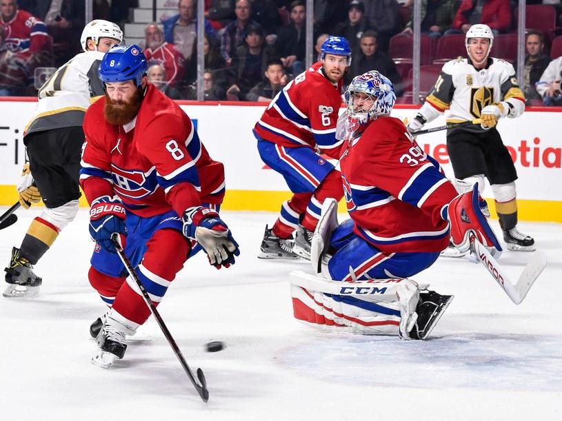 Hokeiści Montreal Canadiens (na pierwszym planie) /AFP