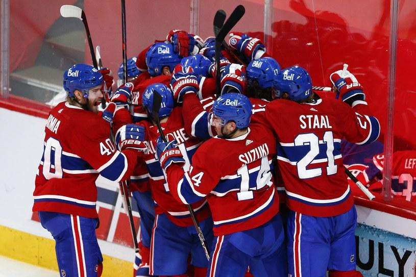 Hokeiści Montreal Canadiens świętują awans do finału /AFP