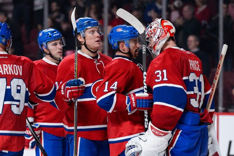 Hokeiści Montreal Canadiens /AFP