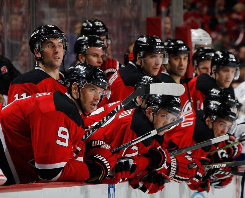 Hokeiści New Jersey Devils /AFP
