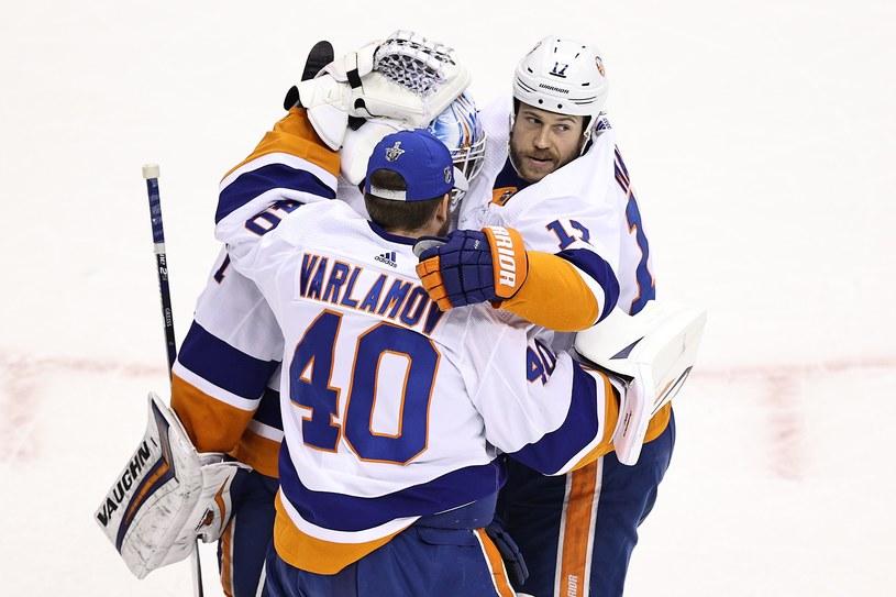 Hokeiści New York Islanders /AFP
