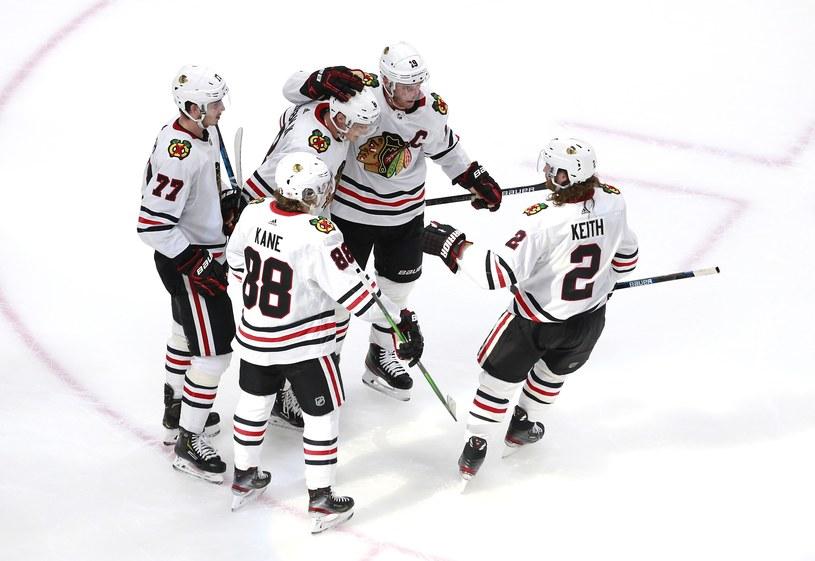 Hokeiści NHL /AFP