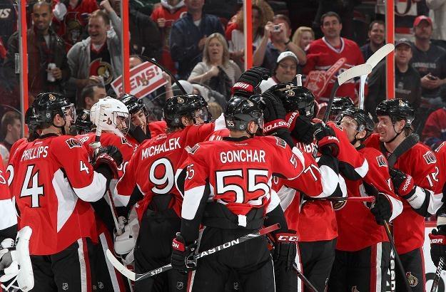 Hokeiści Ottawa Senators/fot. Jana Chytilova /Getty Images