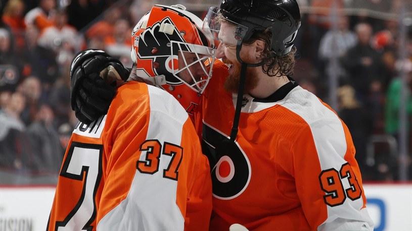 Hokeiści Philadelphia Flyers triumfują. /SID