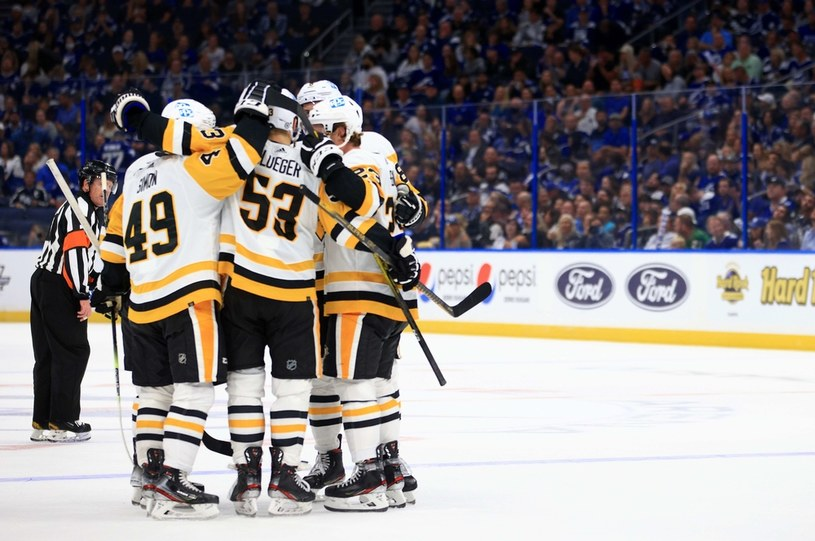 Hokeiści Pittsburgh Penguins /AFP