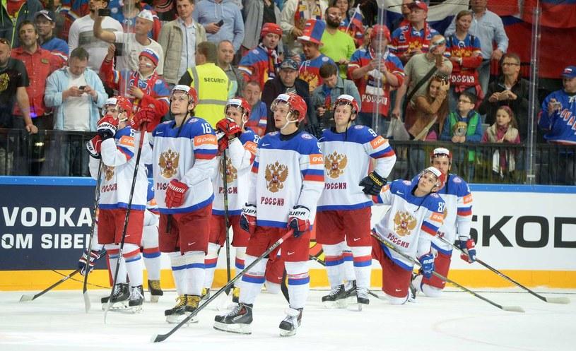Hokeiści reprezentacji Rosji /AFP