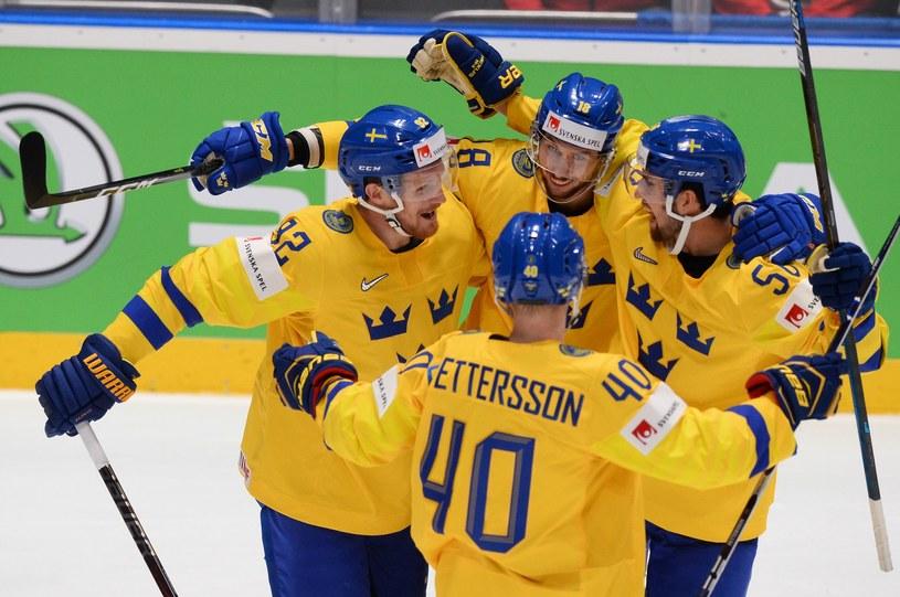 Hokeiści reprezentacji Szwecji /AFP