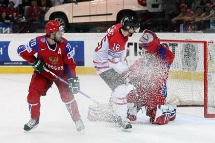 Hokeiści Rosji obronili w maju mistrzostwo świata. Fot: Tadeusz Bącal /INTERIA.PL