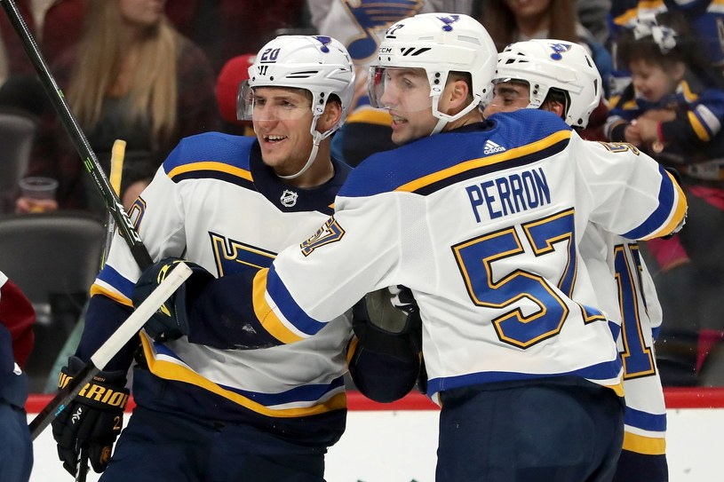 Hokeiści St. Louis Blues /AFP