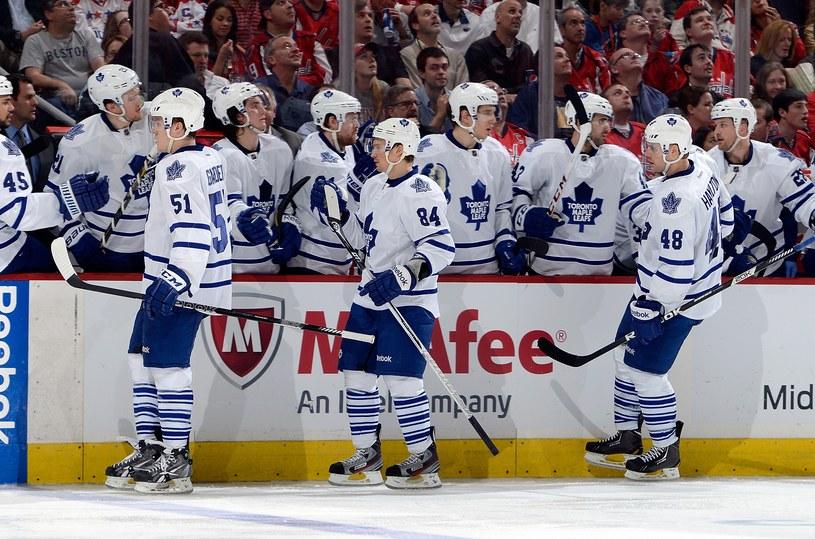 Hokeiści Toronto Maple Leafs /AFP