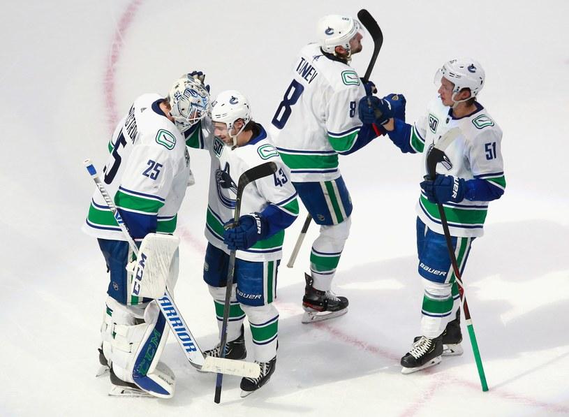 Hokeiści Vancouver Canucks /AFP