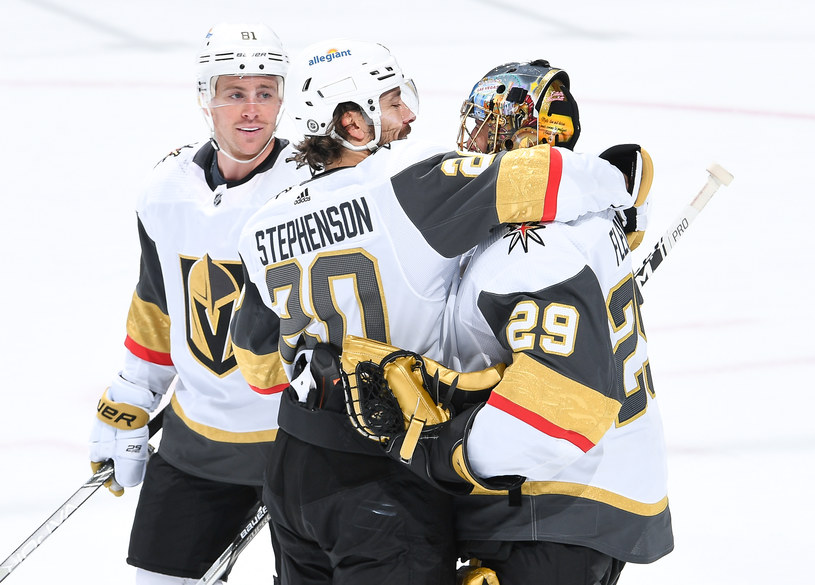 Hokeiści Vegas Golden Knights /Getty Images
