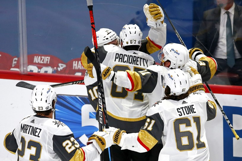 Hokeiści Vegas Golden Knights /AFP